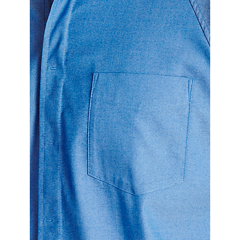 Buy Levi's Commuter Short Sleeve Shirt, Snorkel Blue Chambray Online at johnlewis.com