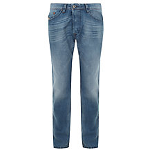 Buy Diesel Darron Straight Tapered Jeans, Mid Foam Wash Online at johnlewis.com