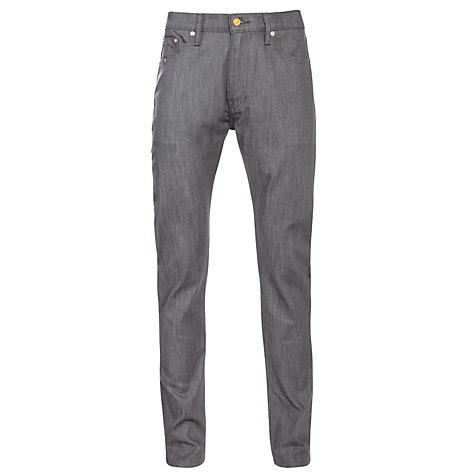 Buy Levi's 508 Commuter Regular Tapered Jeans, Grey Online at johnlewis.com
