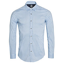 Buy Diesel Zuba Geo Print Shirt, Blue Online at johnlewis.com