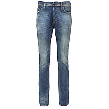 Buy Diesel Teppher Slim Tapered Jeans, Mid Faded Wash Online at johnlewis.com