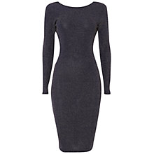 Buy Rise Clara Lurex Dress, Navy Online at johnlewis.com