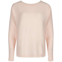 Buy Ted Baker Babell Rib Detailed Oversized Jumper Online at johnlewis.com