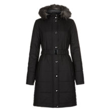 Buy Hobbs Pattie Parka, Black Online at johnlewis.com