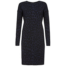 Buy Hobbs Eadie Dress, Navy/Black Online at johnlewis.com