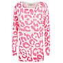 Buy Havren Animal Print Jumper, Powder/Sherbert Online at johnlewis.com