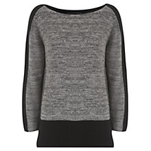 Buy Mint Velvet Block Cotton Knitted Jumper, Multi Online at johnlewis.com