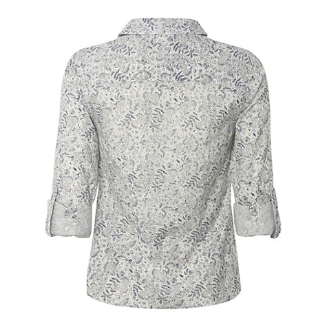 Buy White Stuff Bisley Shirt, White/Multi Online at johnlewis.com