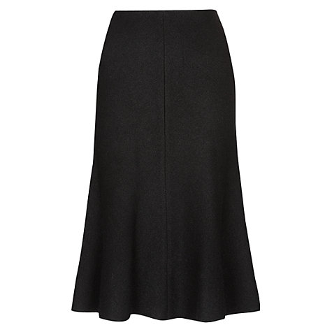 Buy Hobbs Daisey Skirt, Black Online at johnlewis.com