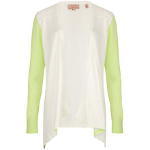 Buy Ted Baker Lyndzie Shoulder Seam Detail Wrap, White Online at johnlewis.com