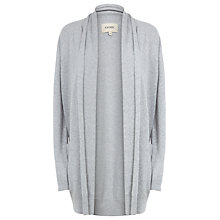 Buy Havren Long Cardigan, Light Grey Melange Online at johnlewis.com