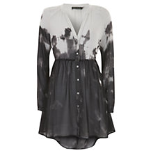 Buy Mint Velvet Carey Print Smock Blouse, Multi Online at johnlewis.com