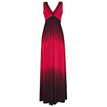 Buy Phase Eight Carla Ombre Maxi Dress, Damson Online at johnlewis.com