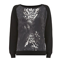 Buy Mint Velvet Anita Print Jumper, Multi Online at johnlewis.com
