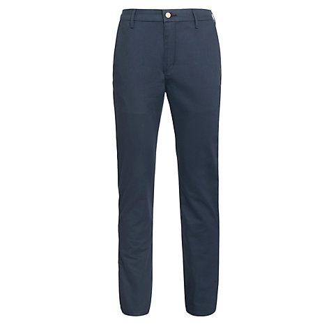 Buy Levi's Commuter 508 Regular Tapered Water Resistant Trousers, India Ink Online at johnlewis.com
