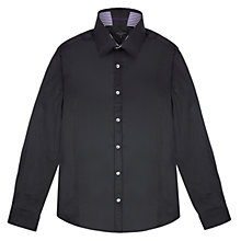 Buy Ted Baker Sitdown Textured Stripe Shirt Online at johnlewis.com