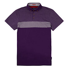 Buy Ted Baker Mondrin Jaquard Polo Shirt Online at johnlewis.com