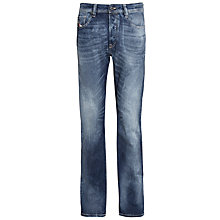 Buy Diesel Larkee Relaxed Fit Jeans, Mid/Dark Wash Online at johnlewis.com