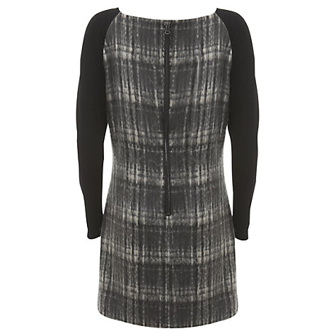 Buy Mint Velvet Check Tunic Dress, Multi Online at johnlewis.com