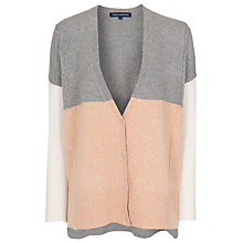 Buy French Connection Vhari Colour Block Cardigan, Multi Online at johnlewis.com