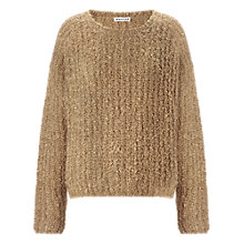 Buy Whistles Emmeline Bouclé Jumper, Camel Online at johnlewis.com