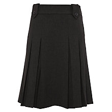 Buy John Lewis School Tab Kick Pleat Skirt Online at johnlewis.com