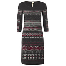 Buy White Stuff Chagal Knitted Dress, Gunmetal Online at johnlewis.com