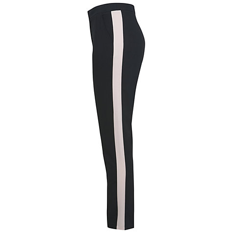 Buy Miss Selfridge Tuxedo Trousers, Black Online at johnlewis.com