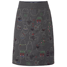 Buy White Stuff Bianca Skirt, Gunmetal Online at johnlewis.com