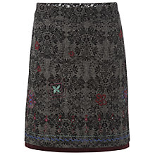 Buy White Stuff Dubovka Skirt, Gunmetal Online at johnlewis.com