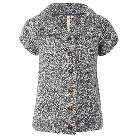 Buy White Stuff Frasier Cardigan, Gunmetal Online at johnlewis.com