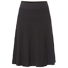 Buy White Stuff Je T'Aime Skirt, Gunmetal Online at johnlewis.com