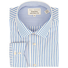 Buy Ted Baker Endurance Timeless Bengal Striped Shirt, Blue Online at johnlewis.com