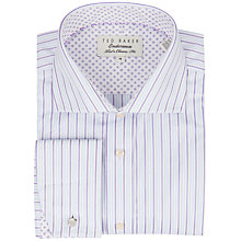 Buy Ted Baker Endurance Sterling Stripe Shirt, Blue/Purple Online at johnlewis.com