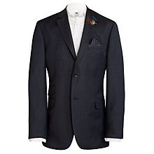 Buy Ted Baker Pinhead Wool & Linen Suit Jacket, Navy Online at johnlewis.com