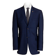 Buy Ted Baker Endurance Sterling Plain Wool Twill Jacket, Indigo Online at johnlewis.com