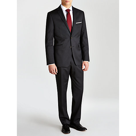 Buy John Lewis Tailored Pinstripe Suit Jacket, Charcoal Online at johnlewis.com
