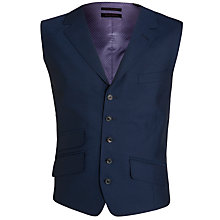 Buy Ted Baker Sterling Wool Twill Waistcoat, Indigo Online at johnlewis.com