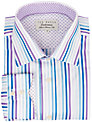 Ted Baker Endurance Sterling Multi-Stripe Shirt, Purple