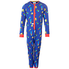 Buy Kids Company Monster Onesie, Blue Online at johnlewis.com