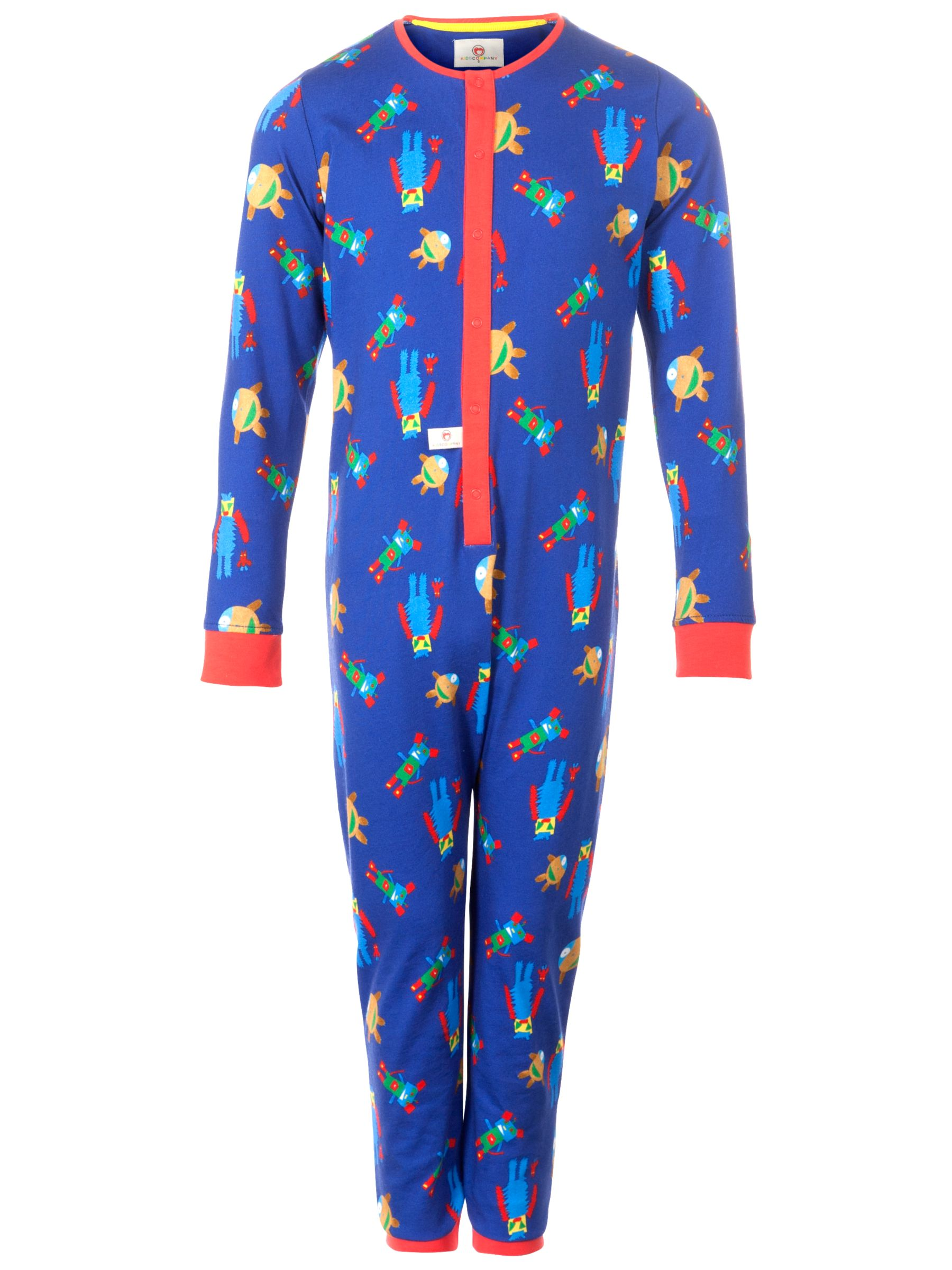 Kids Company Monster Onesie, Blue
