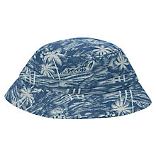 Buy John Lewis Boy Hawaiian Print Bucket Hat Online at johnlewis.com
