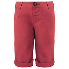 Buy Kin by John Lewis Boys' Chino Shorts, Red Online at johnlewis.com