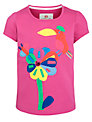 Kids Company Flower & Bird Motif T-Shirt, Pink