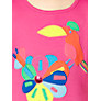 Buy Kids Company Flower & Bird Motif T-Shirt, Pink Online at johnlewis.com