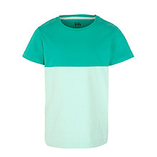 Buy Kin by John Lewis Boys' Colour Block T-Shirt, Green Online at johnlewis.com