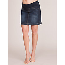 Buy Séraphine Betty Skirt, Blue Denim Online at johnlewis.com