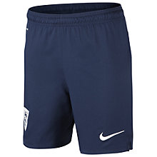 Buy Nike England Boy's Replica Home Shorts 2013/2014, Blue Online at johnlewis.com