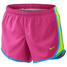 Buy Nike Girl's Tempo Shorts, Pink Online at johnlewis.com