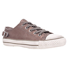 Buy Kurt Geiger Liberty Leather Trainers, Bronze Online at johnlewis.com